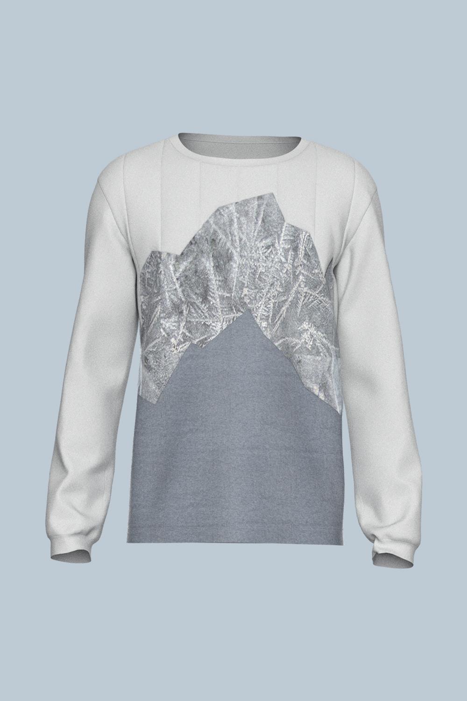 Sweatshirt Grey Iceberg