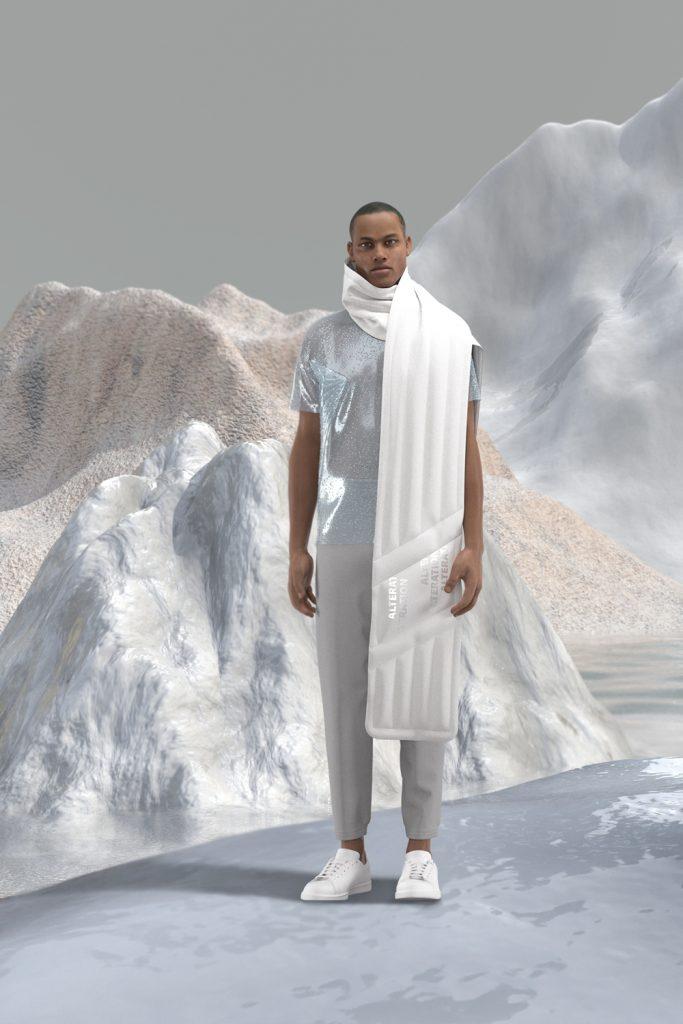 _Alterazione sciarpa + t-shirt rugiada