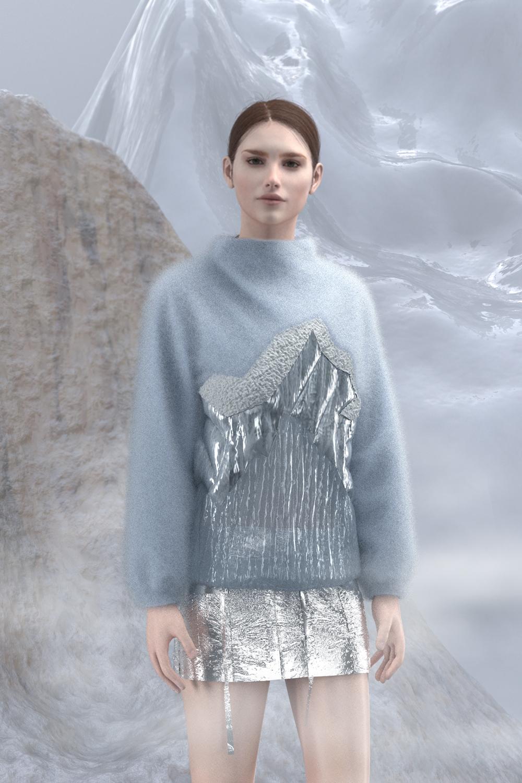 Sweater Blue Iceberg