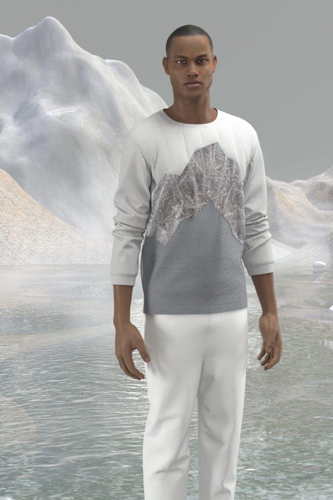 _sweatshirt grey iceberg